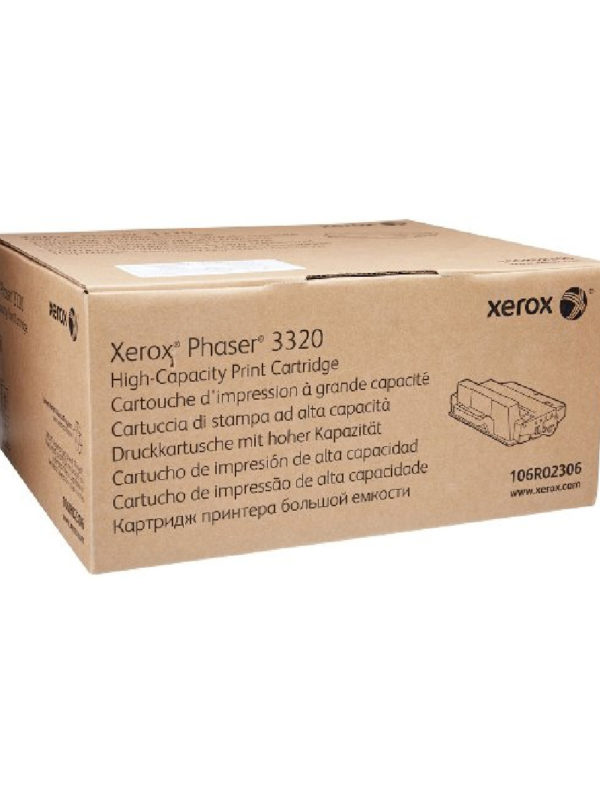 TONER XEROX 106R02306 NEGRO PARA PHASER 3320 (11K), DMO