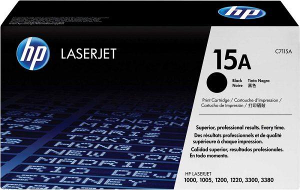 TONER HP 15A C7115A NEGRO 1200 ORIGINAL