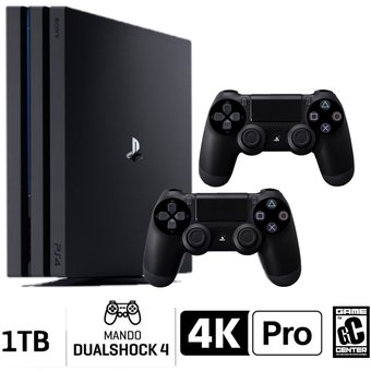 Consola PS4 Pro 1TB Negro PlayStation 4