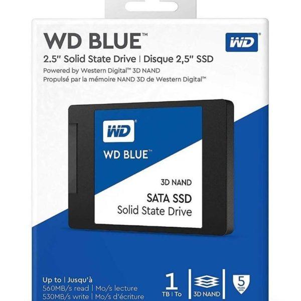 Unidad De Estado Solido Western Digital Blue 3D NAND, 1TB WDS100T2B0A