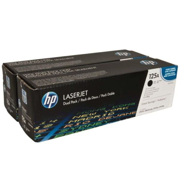 TONER HP CB540AD (125A) BLACK (PACK 2 CB540A)
