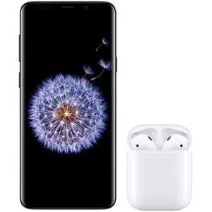 Samsung Galaxy S9+ Plus Negro 64GB + Airpods 2