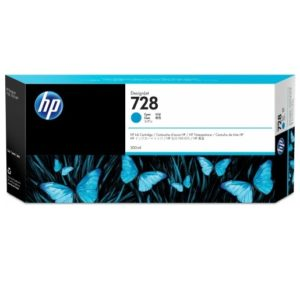 TINTA HP F9K17A (728A) 300ML CYAN