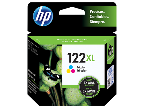 TINTA HP 122XL COLOR CH564HL 330 PAGINAS