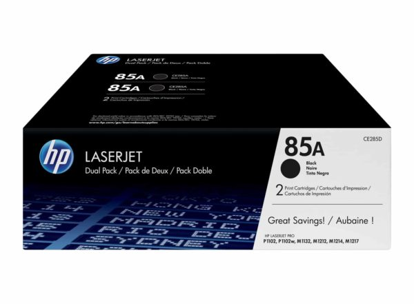 TONER HP CE285AD (85AD) (PACK 2 CE285A)