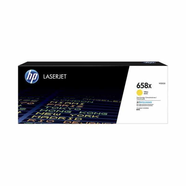 TONER HP W2002X (658X) LaserJet M571 YELLOW 28,000 PGS