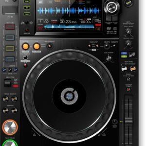 CDJ-2000NXS2 Multireproductor Pro-DJ que soporta audio de alta resolución
