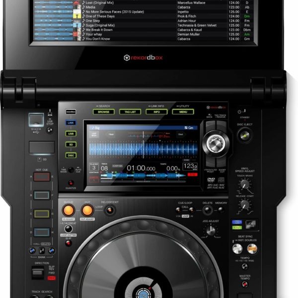 CDJ-TOUR1 Reproductor múltiple Serie TOUR con pantalla plegable