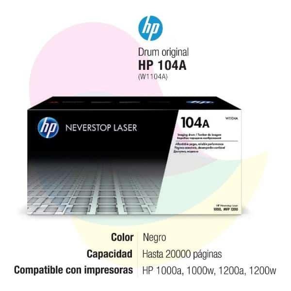 DRUM HP W1104A (104A) N.S.L 1000 20,000 PGS