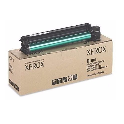 IMAGE DRUM BLACK XEROX 113R000663 PARA WORKCENTRE M15 / PRO 412 / M15I ORIGINAL