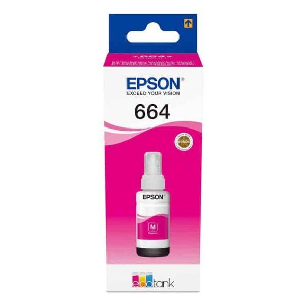 TINTA EPSON T664320-AL MAGENTA PARA L200