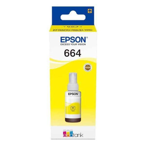 TINTA EPSON T664420-AL YELLOW PARA L200