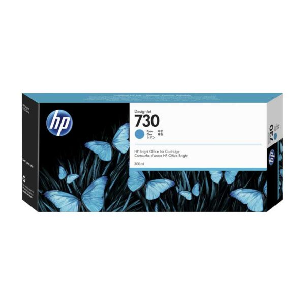 TINTA HP P2V68A (730) 300ML CYAN