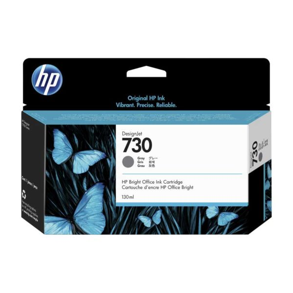 TINTA HP P2V66A (730) 130ML GRAY