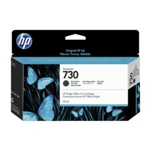 TINTA HP P2V65A (730) 130ML MATTE BLACK
