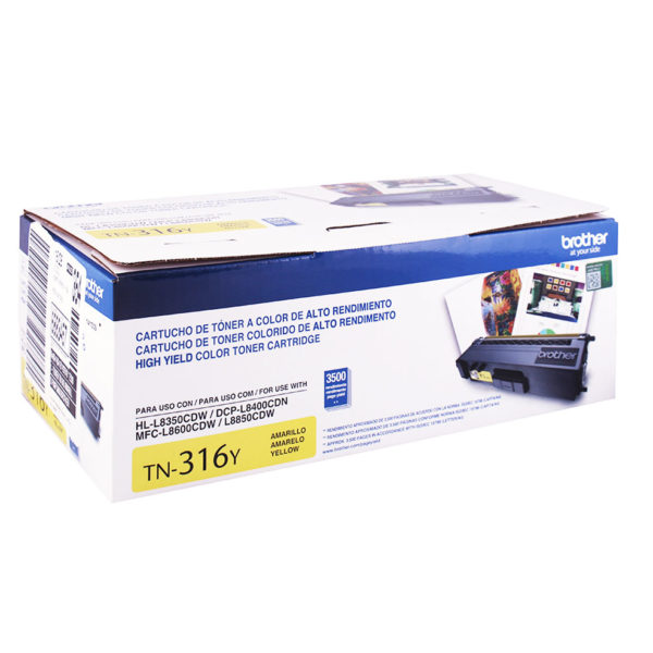 TONER BROTHER TN-316Y HL-L8350/MFC-L8850 (3500 PAG) YELLOW