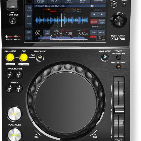 XDJ-700 Reproductor digital compacto, compatible con rekordbox